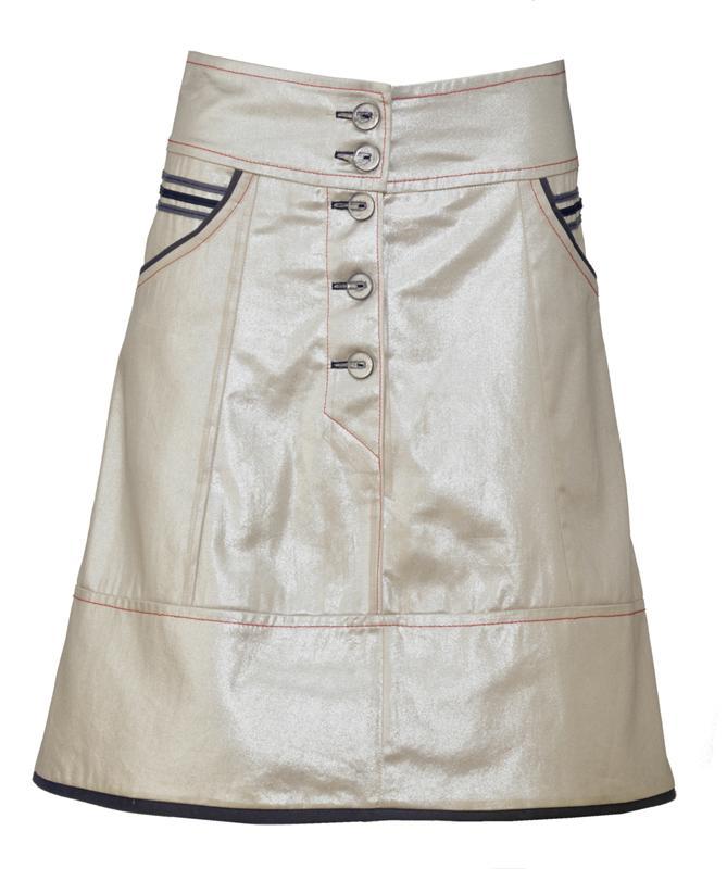 Sailor skirt i gull