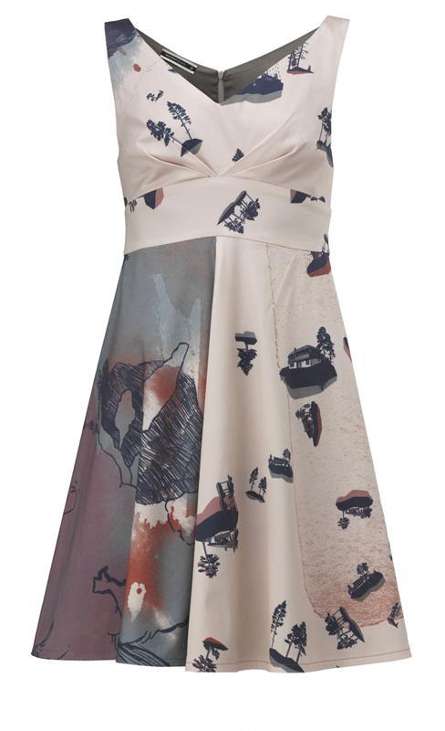 50`s dress i print