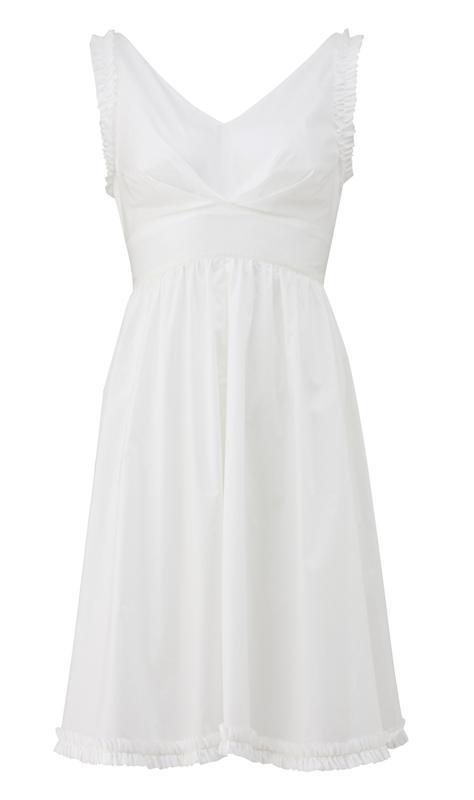 320 la bella dress i hvit