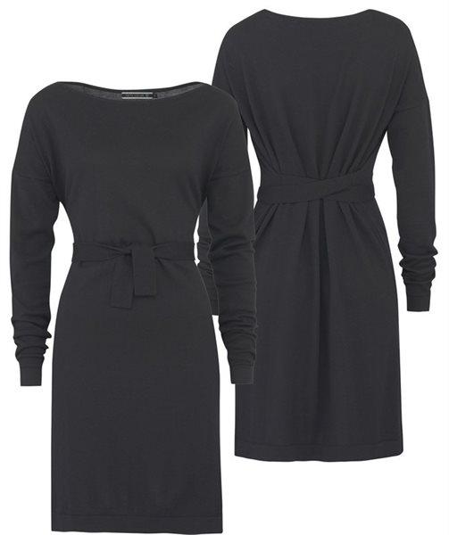 E53 Plain square dress