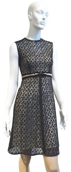 638 Black Summer Lace dress
