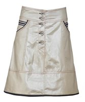Sailor skirt in gold