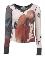 201 slim sweater in print