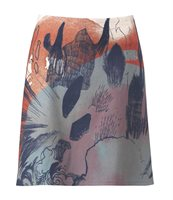 One piece skirt in print