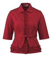40 04 la bella blouse in red