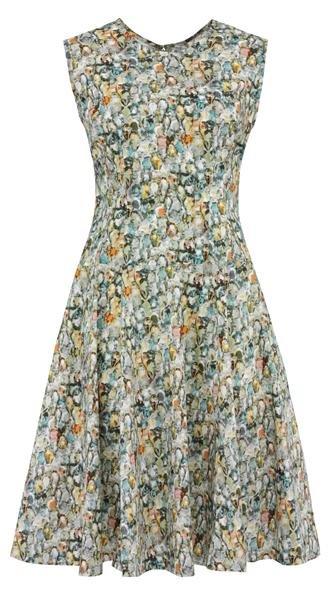 september swing dress d - diamonds (kjole)