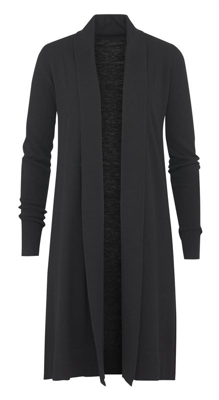 C4 Classic long jacket - black (jakke)