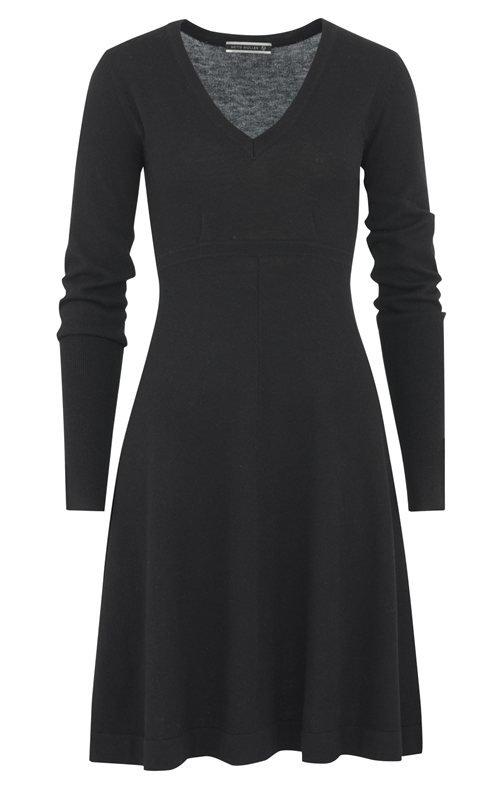 C1 classic dress - black (kjole)