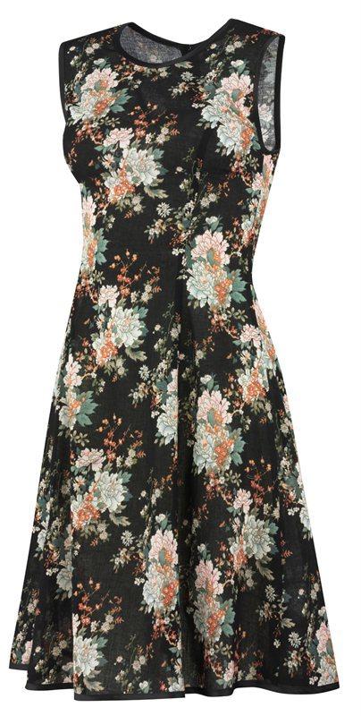 F80 Flower dress - flower (kjole)