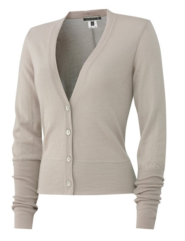 E57 really plain cardigan - beige (jakke)