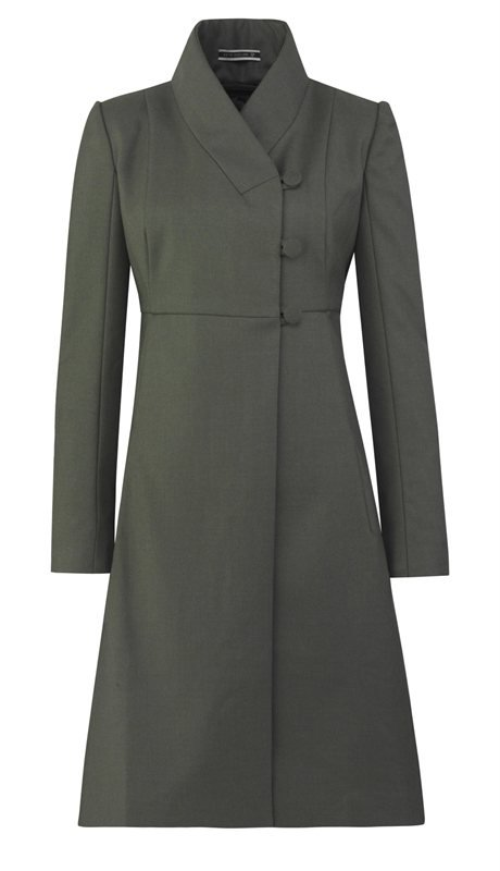 W100 Lady love army coat - army green (yttertøy)
