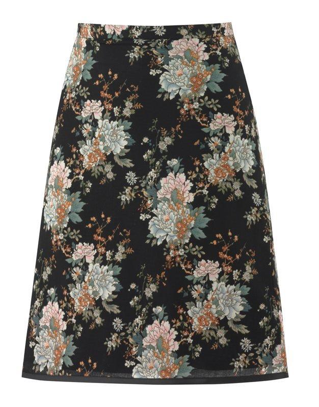 F101 Coco flower skirt - flower (skjørt)