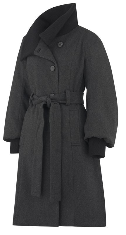 W102 This years coat - charcoal (yttertøy)