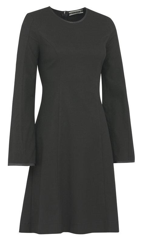 W80 Stretch dress - black (kjole)
