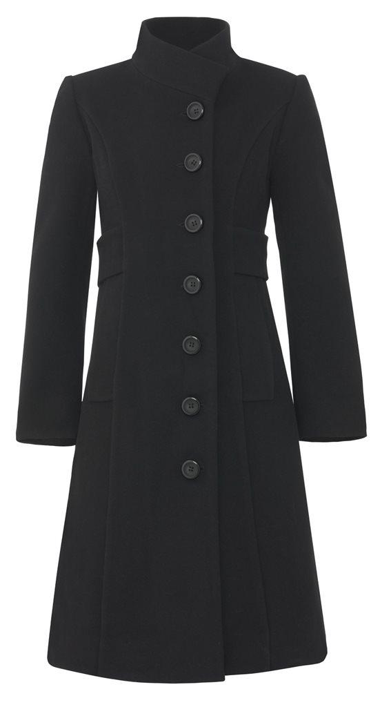 W105 The black coat - black (yttertøy)