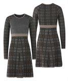 E68 CrissCross X-dress - brown mix (kjole)