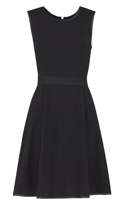 F80 Linda dress - black (kjole)