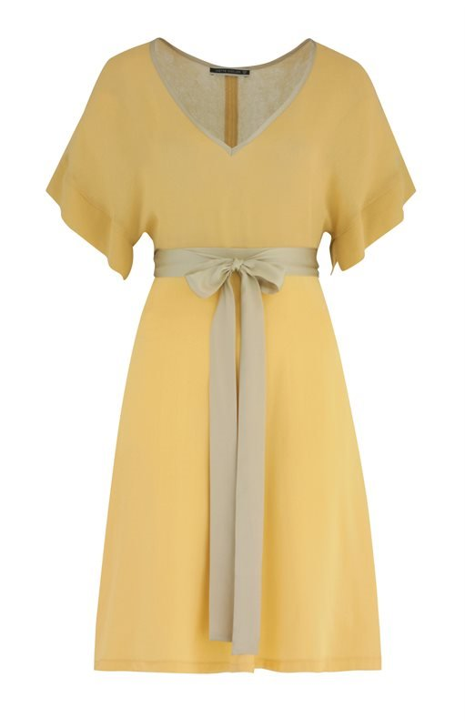 Summer Love dress crepe - joba yellow (kjole)