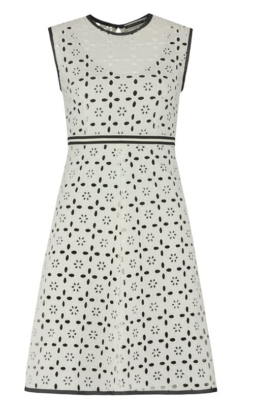 Summer Big Lace dress - big lace (kjole)