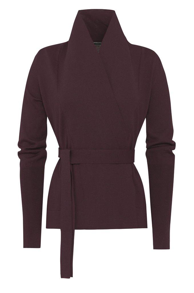 C5 Classic short jacket 2015 - plum (jakke)