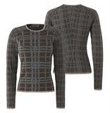 E65 CrissCross sweater - brown mix (genser)