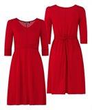 C2 Classic A-line dress 2015 - true red (kjole)