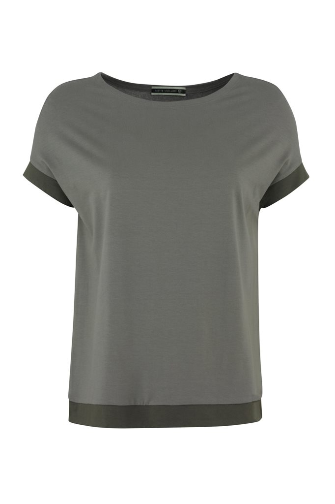 Pipp Wide tee - stone mix (topp)