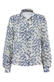 Birdy shirt - blue bird (skjorte)