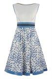 Birdy dress - blue bird (kjole)