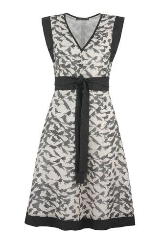 Birdy Kimono dress - black bird (dress)