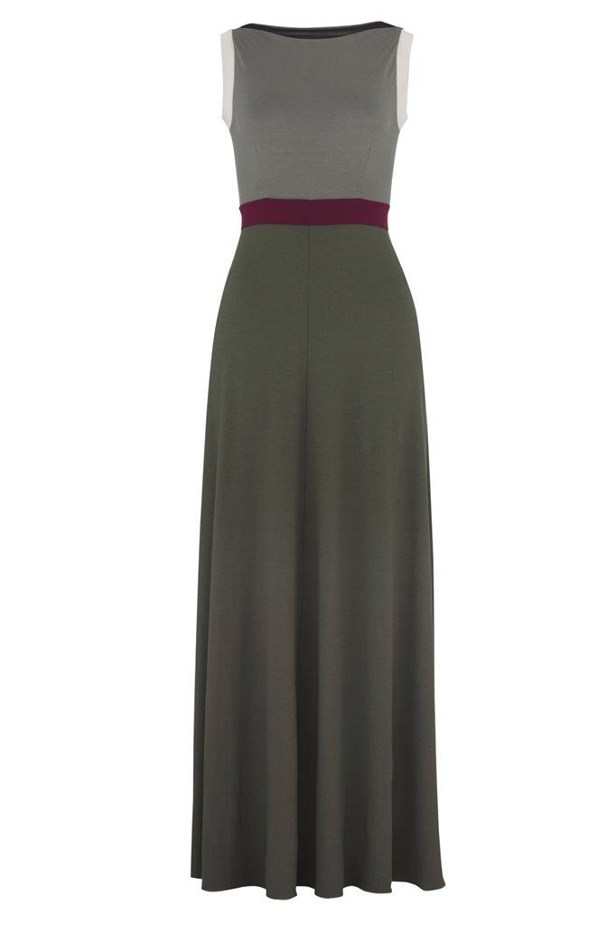 Pipp mix long dress - pink mix (kjole)