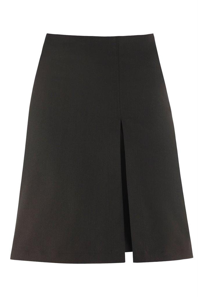 W91 Mochi denim skirt brown - brown (skjørt)