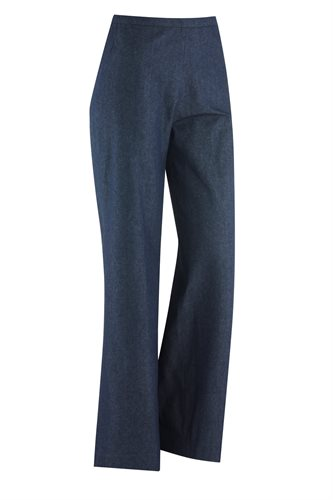 W93 Mochi 70's trousers blue/grey - blue (pants/shorts)