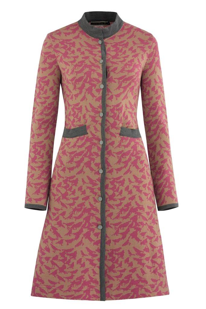 Bluebird coat - pink mix (jakke)