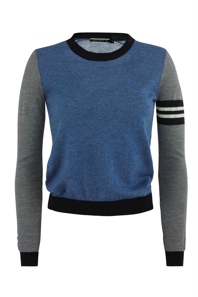 Bluebird sweater - blue mix (genser)