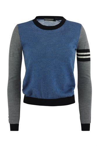 Bluebird sweater - blue mix (sweater)