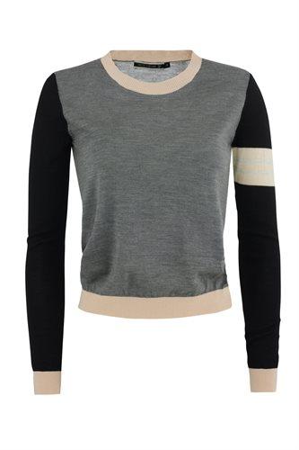 Bluebird sweater - gray mix (sweater)