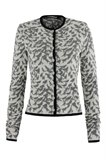 Bluebird print jacket - grey mix (jakke)