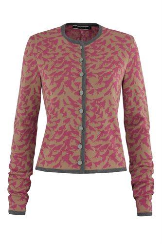 Bluebird print jacket - pink mix (jacket/cardigan)
