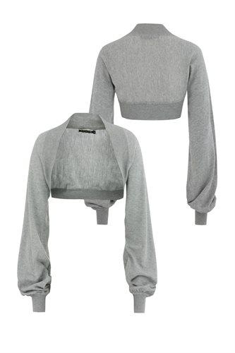 Bluebird bolero - grey (jacket/cardigan)