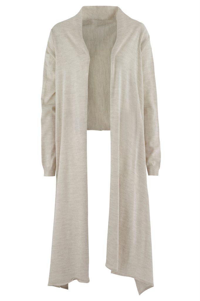Bluebird square jacket - light grey (jakke)
