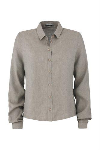 Birdy shirt solid - beige (shirt)