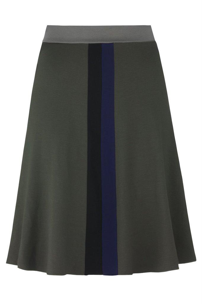 Pipp wide skirt - stone mix (skjørt)