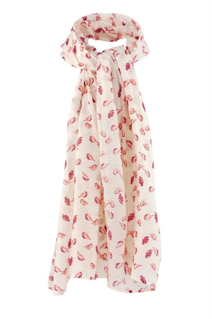 Birdy shawl - pink bird (tilbehør)