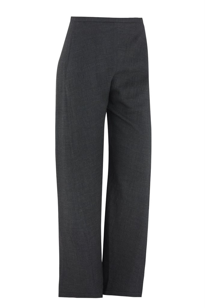 Birdy trousers i ruter - dark blue (bukse)