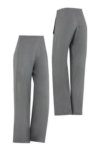 Birdy trousers - gray front and back (pants/shorts)