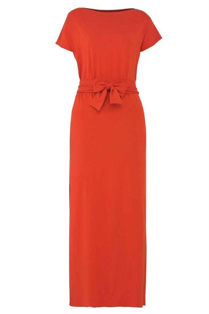 Jenna long dress - ginger (kjole)