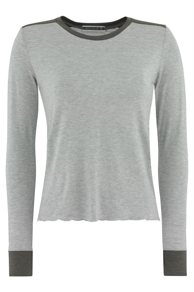 summer army sweat - light grey (genser)