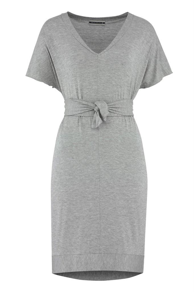 summer tunic - light grey (kjole)