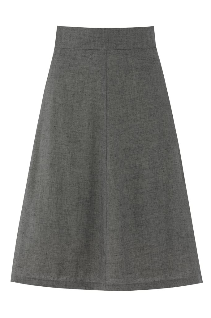 september skirt m - grey (skjørt)